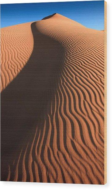 Sahara Dune II Wood Print