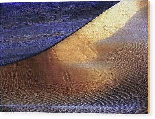 Saharan Desert Wood Print by Paco Feria