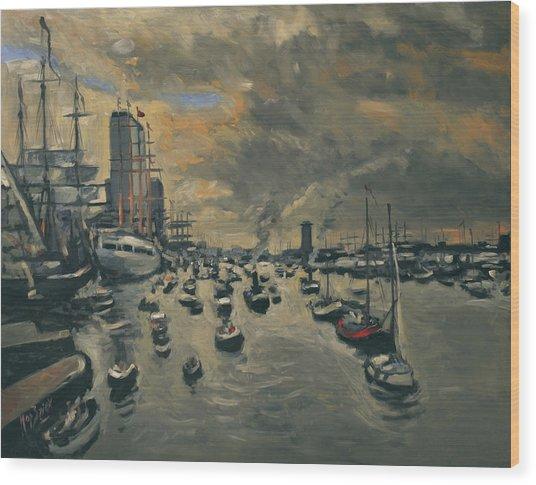 Sail Amsterdam 2015 Wood Print