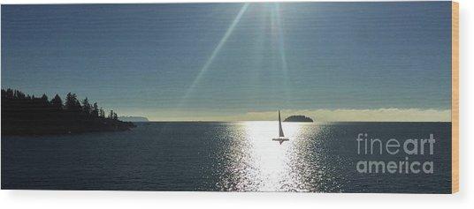 Sail Free Wood Print