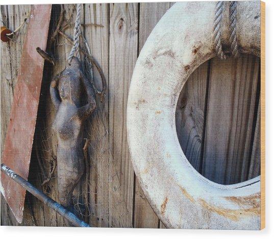 Sailing Supplies Wood Print by JAMART Photography