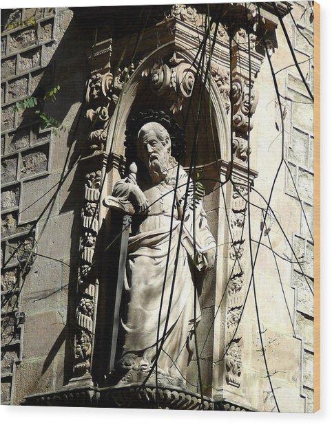 Saint Gardinan Wood Print