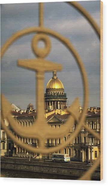 Wood Print featuring the photograph Saint Petersburg by Travel Pics