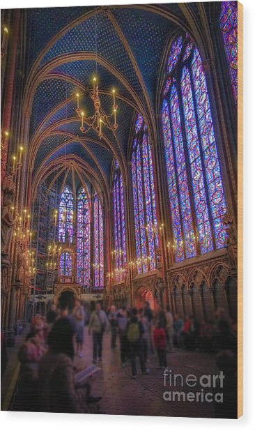Sainte-chapelle Wood Print