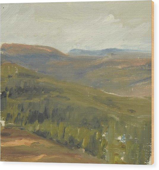 Salen Daylight 90x85 Cm Wood Print