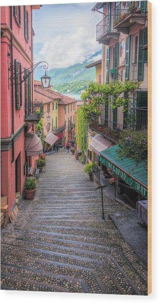 Salita Serbelloni Bellagio Italy Wood Print