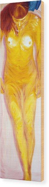 Salle De Bain IIi Wood Print by LB Zaftig