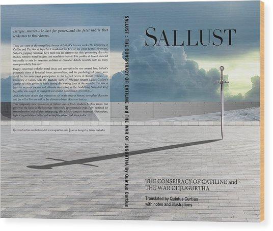 Sallust Cover Wood Print