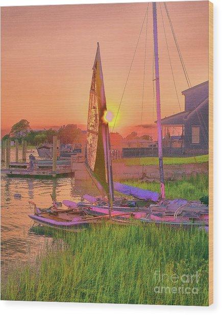 Sailor's Rest Wood Print
