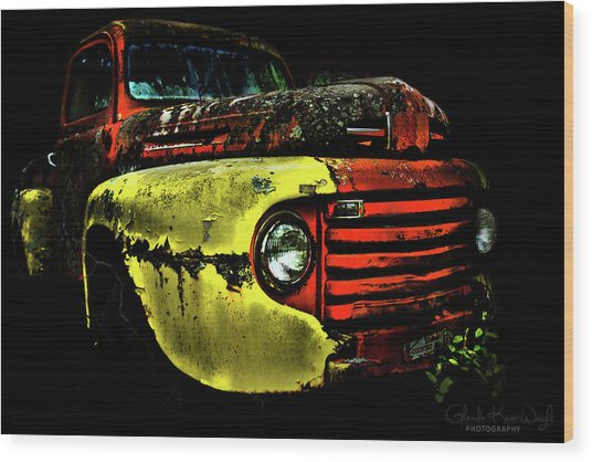 Salsa Chevy Wood Print