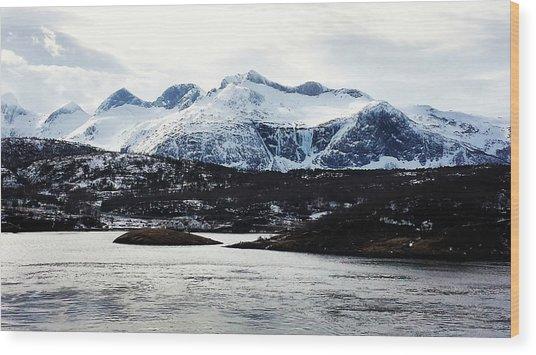 Saltstraumen Wood Print