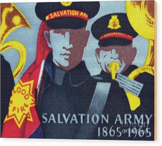 Salvation Army. Wood Print by Stan Pritchard