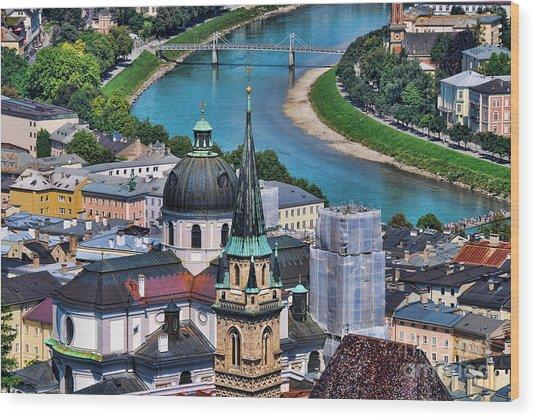 Salzburg Austria Europe Wood Print