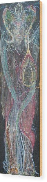 Samanaraj Wood Print by Brian c Baker