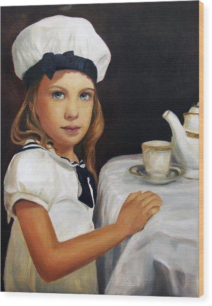 Samantha Wood Print by Lisa Konkol