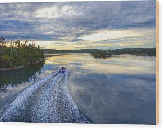 Sambro Basin II Nova Scotia Wood Print