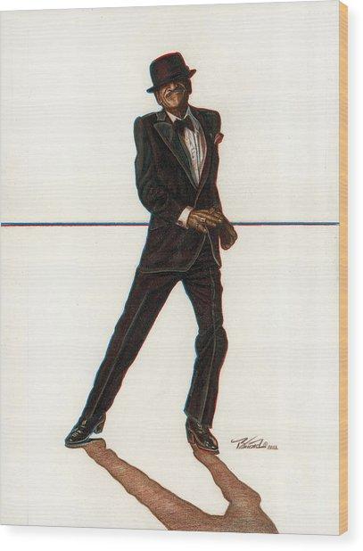 Sammy Wood Print by Buena Johnson