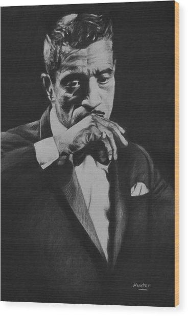 Sammy Davis Wood Print