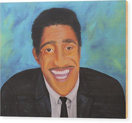 Sammy Smiles Wood Print