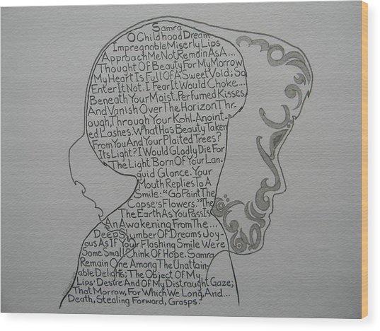 Samra Wood Print