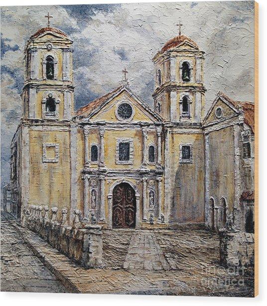 San Agustin Church 1800s Wood Print