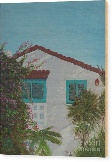 San Clemente Art Supply Wood Print