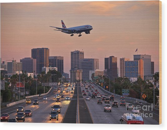 San Diego Rush Hour  Wood Print