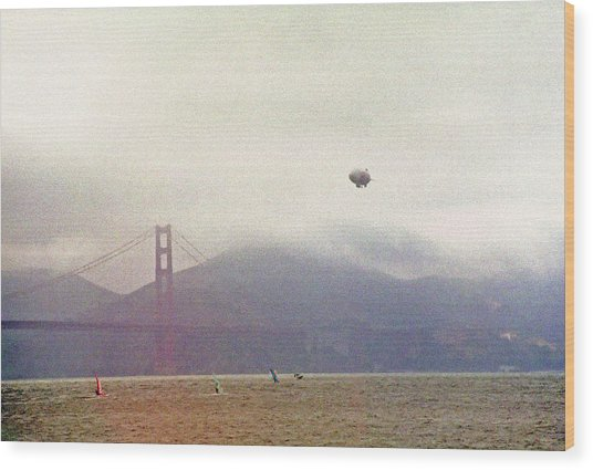 San Francisco Bay Recreation 1 Wood Print by Steve Ohlsen