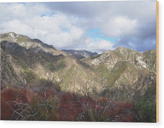 San Gabriel Mountains National Monument Wood Print