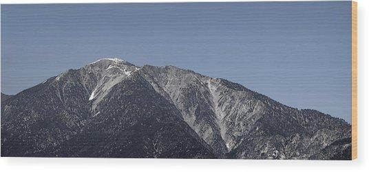 San Gabriel Mountains Wood Print