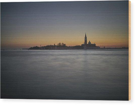 San Giorgio Sunset 0933 Wood Print