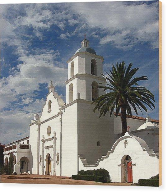 San Luis Rey Wood Print