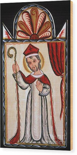 San Nicolas - St. Nicholas - Aosni Wood Print