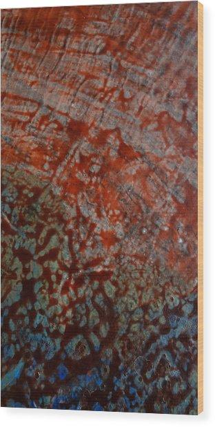 Sand And Sea II Wood Print