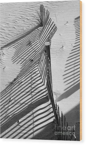Sand And Sun Wood Print