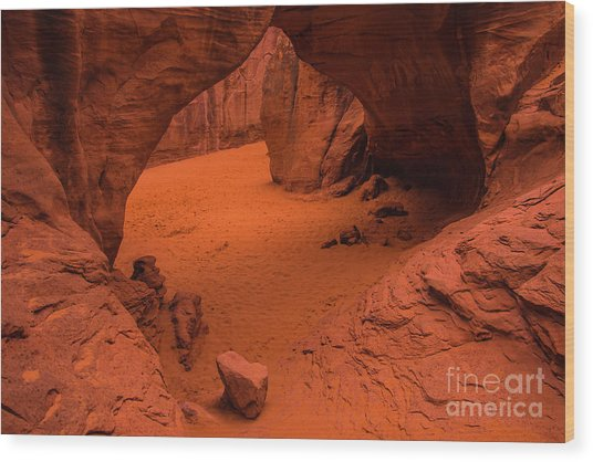 Sand Dune Arch - Arches National Park - Utah Wood Print