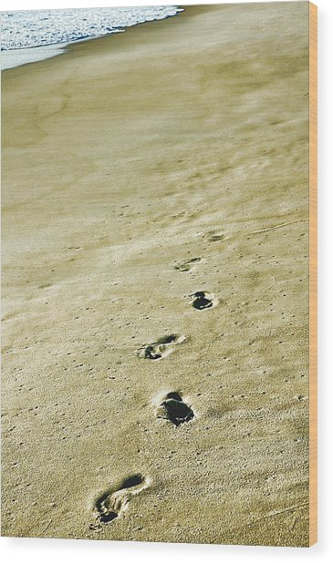 Sand In Motion Wood Print by JAMART Photography