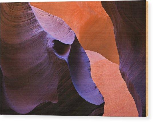 Sandstone Apparition Wood Print