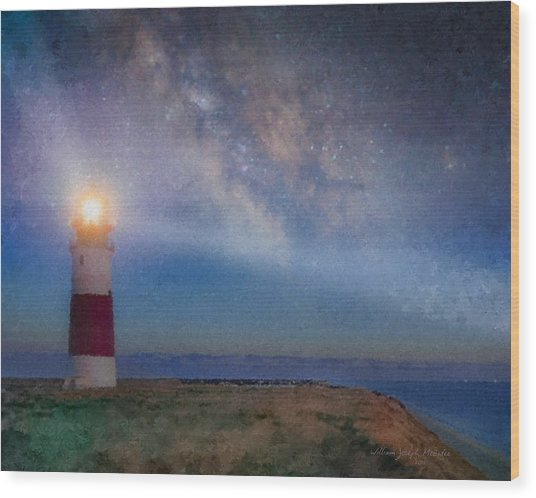 Sankaty Head Light, Nantucket Wood Print
