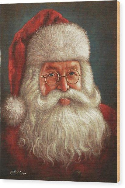 Santa 2017 Wood Print