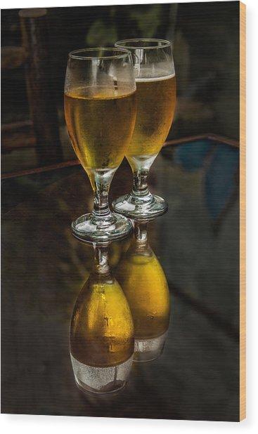 Santa Elena Beers Wood Print