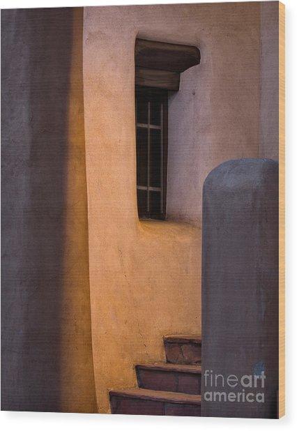 Santa Fe Steps Wood Print