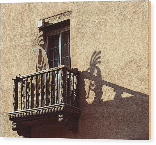 Santa Fe Sunrise Wood Print