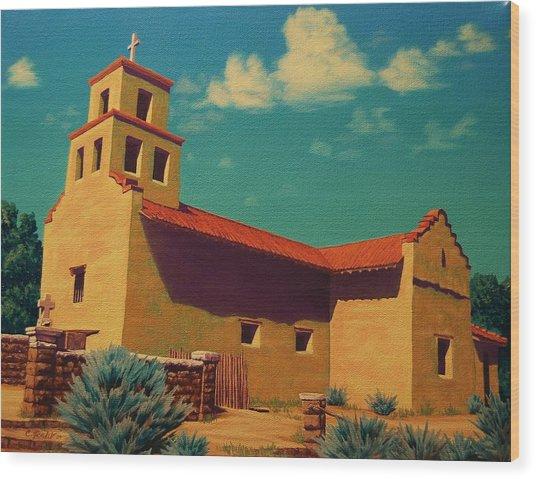 Santa Fe Tradition Wood Print