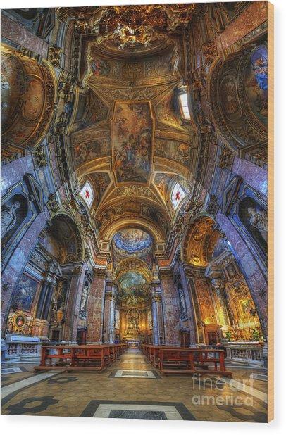 Santa Maria Maddalena Wood Print