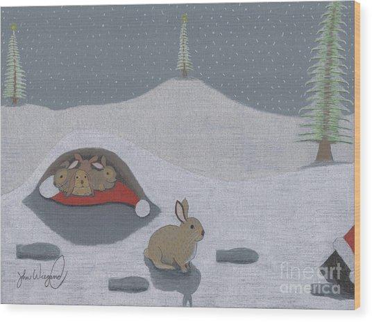 Santa's Ultimate Gift Wood Print