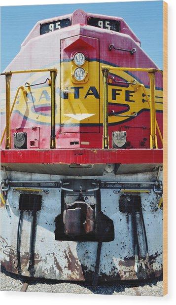 Sante Fe Railway Wood Print