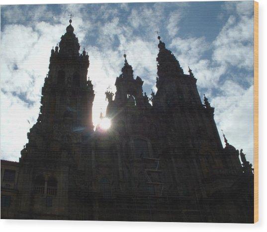 Santiago De Compostela Wood Print by Lara Henderson