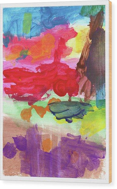 Santino P Wood Print by Santino P