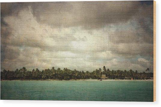 Saona Island , Santo Domingo Wood Print